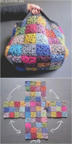 suspended Account suspended latest crochet bag idea for girls - handmade - Häkeltasche - Huh History of Knitting Wool spinning,. Account suspended latest crochet bag idea for girls - handmade - Häkeltasche - Huh History of Knitting Wool spinning,. Crochet Granny, Easy Crochet, Crochet Stitches, Free Crochet, Knit Crochet, Crochet Girls, Crochet Squares, Scrap Yarn Crochet, Funny Crochet