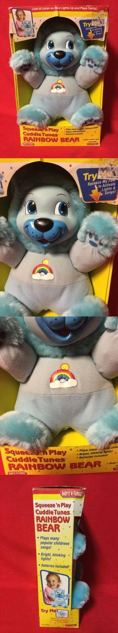 Mixed Lots 158780: New Baby S N Things Blue Rainbow Bear Singing Sound Plush Toy Stuffed Animal -> BUY IT NOW ONLY: $49.99 on eBay!