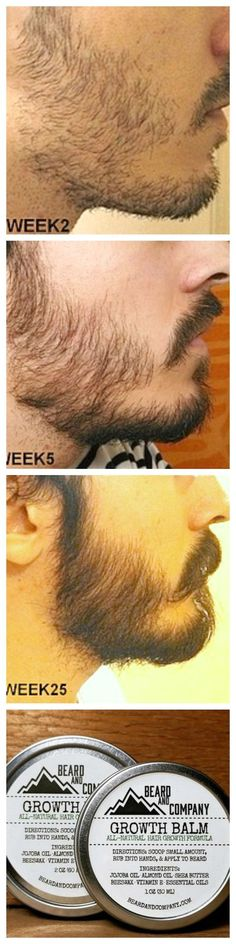 Wanna grow a full, healthy beard but your cheeks tend to grow in patchy? No problem! Beard and Company's all-natural Colorado-made beard care products are formulated to help you grow a healthy beard without all the fillers and nasty chemicals.