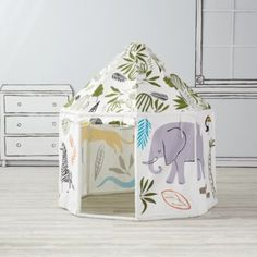 It's always playtime in Land of Nod playhouses and teepees. No kids' room or playroom is complete without a steller playhouse, teepee or tent.