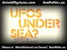 Documentary... USO's really exist....can be another under sea civilization or it can be what ufo's are? extraterrestrial or underrterestrial?
