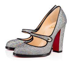 Women Shoes - Top Street 100 Glitter Disco Ball/gg Glitter - Christian Louboutin