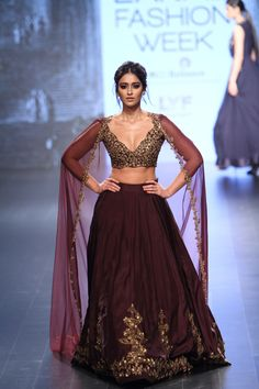 Ridhi Mehra at Lakmé Fashion Week winter/festive 2016