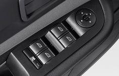 Acessórios Ford Focus Hatch - Controle elétrico dos espelhos retrovisores e vidros(com um toque para cima e para baixo)