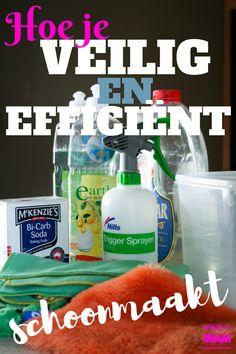 Hoe je veilig en efficiënt schoonmaakt