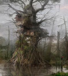 Tree House by Nacho Yague