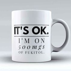 Cup of shut the fu@k up US Army Funny Beverage COASTER
