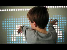Great pediatric application - interactive light play for kids. Nebula, interactive wall by NYOYN - YouTube