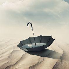 Desert Umbrella by Sedat Gever