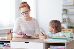 Female private tutor helping young student with homework at desk in bright child's room images photo royalty free image photo Improve Communication Skills, Writing Programs, Creative Jobs, Math Tutor, Schools First, Children And Family, Young Children, Private School, Challenges