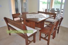 Mesas Cuadradas para comedor