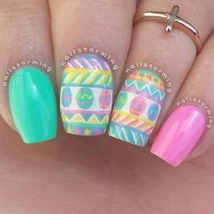 nailstorming easter #nail #nails #nailart