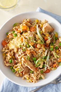 How To Make the Best Chicken Fried Rice Without a Wok — Cooking Lessons from The Kitchn #recipes #food #kitchen