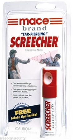 Screecher Personal Alarm  http://www.absolutesecuritystore.com/personal-alarms-for-women.html