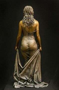 Bathsheba bronze sculpture from the Benjamin Victor Studios Robin Wight, Art Sculpture, 3d Prints, Erotic Art, Oeuvre D'art, Female Bodies, Creative Art, Beauty Women, Amazing Art