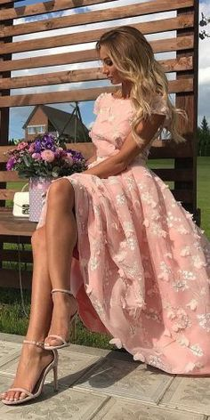 Wedding guest dresses for every season and style ★ Further information: www.weddingforwa… - Dresses - Wedding guest dresses for every season and style ★ Further information: www. Dresses Elegant, Unique Dresses, Pretty Dresses, Pink Prom Dresses, Summer Dresses, Mini Dresses, Club Dresses, Ladies Dresses, Bride Dresses