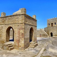 Zoroastrian Fire Temple of Baku Zoroastrianism is one of the world's oldest religions dating all the way back to the BCE Ahura Mazda, Persian Culture, Fantasy Places, Silk Road, Prehistory, Fantasy Inspiration, Homeland, Buildings, Empire