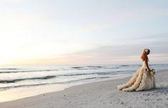 beach, wedding, wedding dress her dress is sooooo Pretty! Beach Wedding Photos, Beach Wedding Photography, Wedding Photography Inspiration, Wedding Pictures, Wedding Inspiration, Beach Weddings, Destination Weddings, Wedding Ideas, Photography Ideas