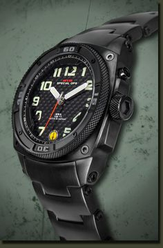 The MTM Special Ops Black Hawk is the world s first and only electromagnetic rechargeable watch with two LED lighting systems…one for dial illumination and the second for external illumination such as map reading, distress signals, etc. Sweet.