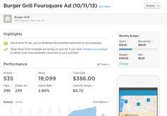 Plateforme publicitaire de Foursquare