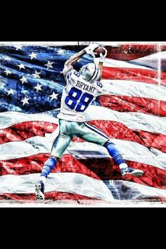 Dez Bryant-with America's team. Dez Bryant Dallas Cowboys, Best Football Team, Dallas Cowboys Football, Football Fever, Sport Football, Super Bowl, Cowboy Spurs, Dallas Cowboys Pictures, Texas Cowboys