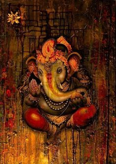 Lord Ganesha is one of the most popular Hindu deity. Here are top Lord Ganesha images, photos, HD wallpapers for your desktop and mobile devices. Ganesh Ji Images, Ganesha Pictures, Ganesha Art, Ganesh Wallpaper, Lord Ganesha Paintings, Lord Shiva Painting, Shiva Art, Hindu Art, Watercolor Art
