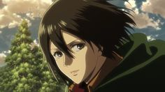 Oi, i see that Mikasa, Armin, Attack Titan, Attack On Titan Season, Gif Animé, Animated Gif, Aot Gifs, Fairy Tail, Aot Characters