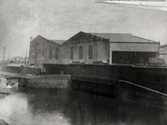 "Caption: ""Great Northern Railway Goods Depot at Kings Cross on the Regent's Canal"""