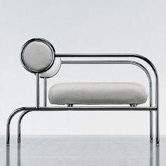Art Deco Sofa With Arms - Cappellini, Shiro Kuramata.