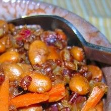 Cranberry Blood Red Orange, Red Lentils, and Red Bhutanese Rice - VeggieFocus