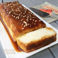 flan-de-cuajada-y-queso Sweet Recipes, Cake Recipes, Dessert Recipes, Delicious Deserts, Yummy Food, Cooking Time, Cooking Recipes, Spanish Desserts, French Desserts
