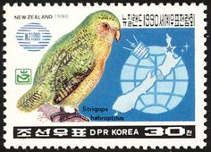 Kakapo stamps - mainly images - gallery format