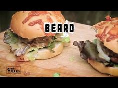 The Bearded Way To Eat A Burger