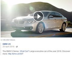 20 April 2016: BMW 520D named Large Executive Car of the year by What Car? https://www.facebook.com/bmwuk/videos/10156733220870043/  Clip playable at BMW UK Facebook