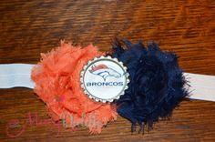 Denver Broncos Shabby Headband