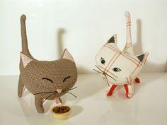 Wee Wonderfuls Pointy Kitties