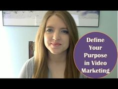 In this video marketing tip, I go over why it is crucial to have a purpose for your video content. When you define a purpose, it has a few main benefits.  #videomarketing #videotips