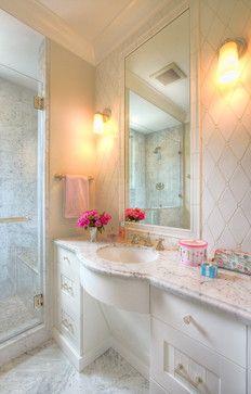 Urbane shingle style Residence - traditional - bathroom - san francisco - Polsky Perlstein Architects