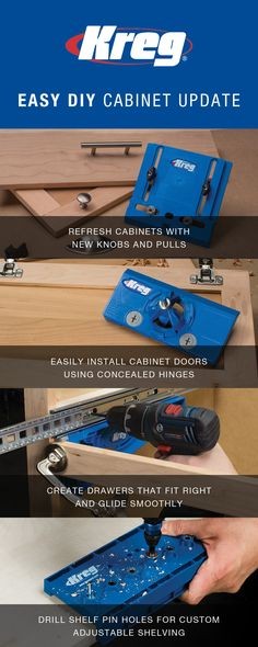 Easy To Install Door Locks Without Tools : Images about kreg jig on pinterest tools