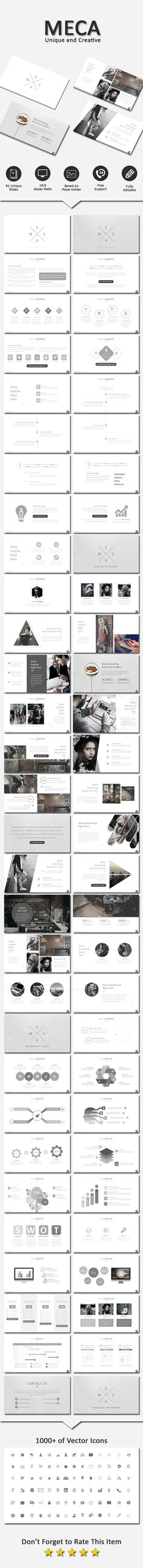 Resume PowerPoint Template Presentation templates, Template and - resume powerpoint template