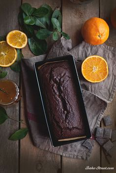 Chocolate & Orange Loaf Cake