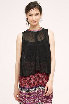 Merletta Tank #anthropologie