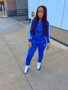 survetement adidas femme bleu electrique new style b9234 11b84