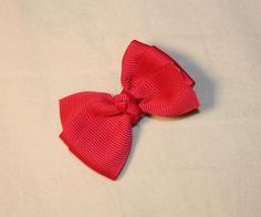 Tutorial how to make this cute bow
