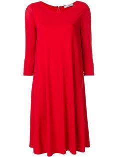 MAX MARA FLARED LOOSE DRESS. #maxmara #cloth #