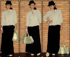 saia longa + chapéu + camisa... detalhes clique na imagem...