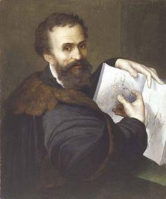 Sebastiano del Piombo: Retrato de Michelangelo, c. 1520–1525 Sebastiano_del_Piombo_009.jpg (400×480)