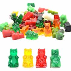 DIY Kitchen Accessories Cake Tools Mold 50 Cavity Silicone Gummy Bear Chocolate Mold Candy Maker Ice Tray Jelly Mould D0026-2