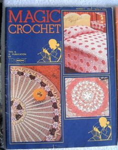 Magic Crochet #1, June 1979