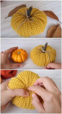 Crochet Pumpkin Video Tutorial - We Love Crochet Crochet Pumpkin Pattern, Crochet Owls, All Free Crochet, Afghan Crochet Patterns, Love Crochet, Crochet Gifts, Crochet Motif, Knit Crochet, Crochet Things